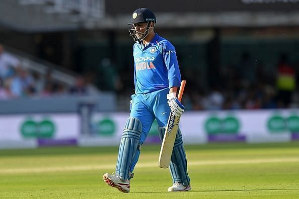 MS Dhoni last played for India at the 2019 World Cup