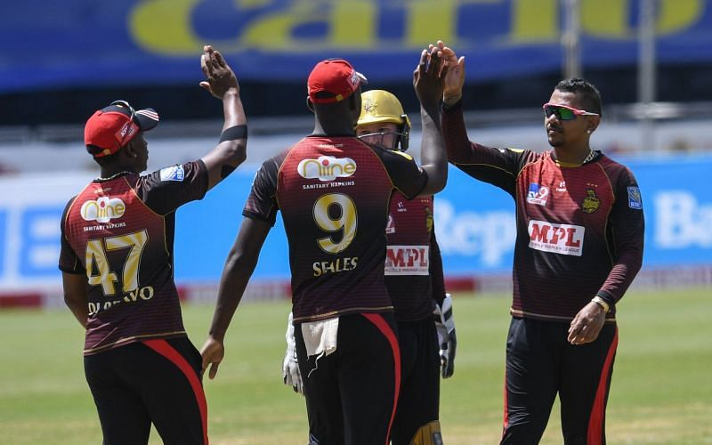 The Knight Riders beat the Tridents in the CPL on Sunday