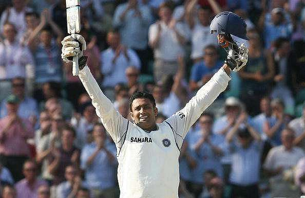 Anil Kumble inside-edged Kevin Pietersen for a boundary to reach his milestone