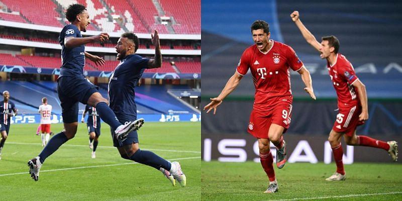 Paris Saint Germain Vs Bayern Munich Combined Xi Uefa Champions League 2019 20