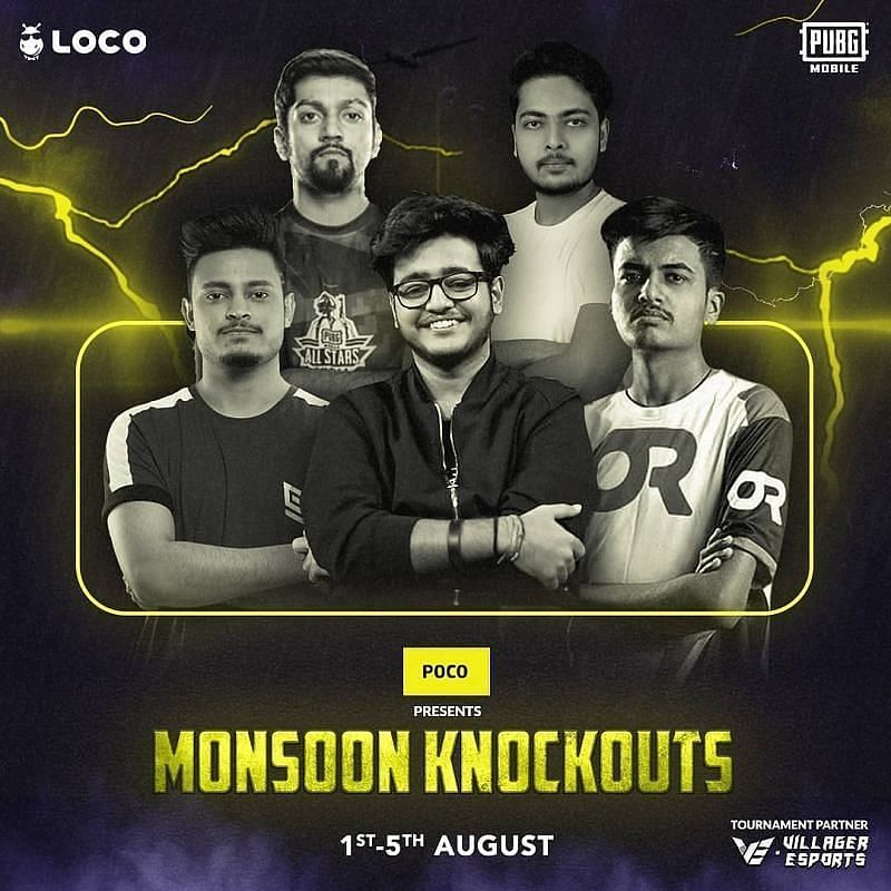 PUBG Mobile Original Monsoon Knockouts Day 4 overall standings