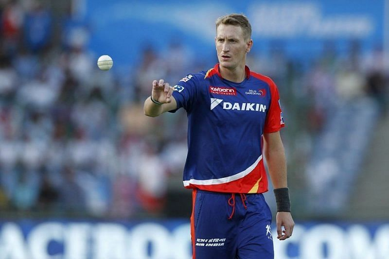 Chris Morris has featured for DC in the last 4 years in the IPL but will play for RCB this year