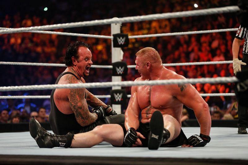 द अंडरटेकर ने ब्रॉक लैसनर को हराकर अपना बदला पूरा किया था