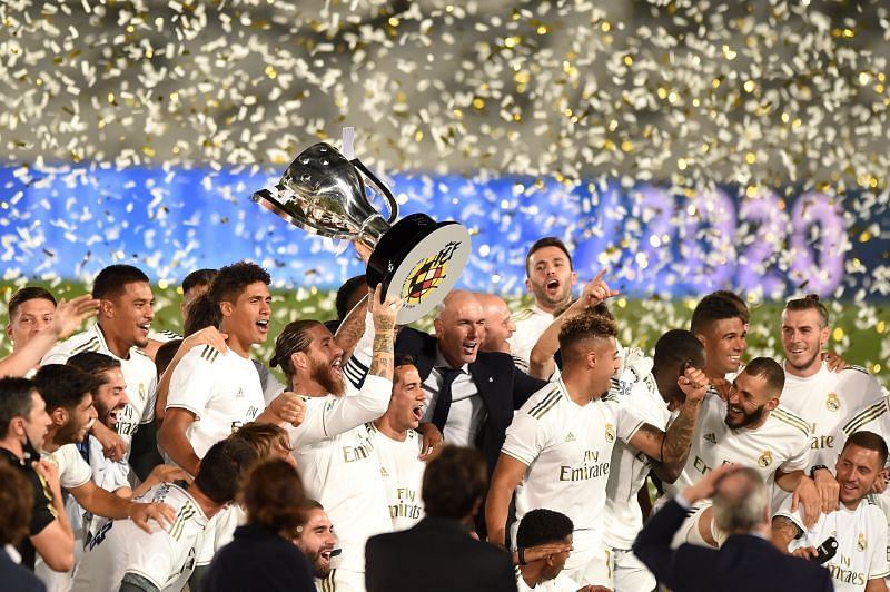 Real Madrid were the deserved winners this season
