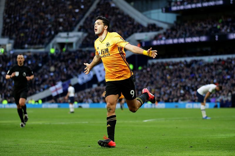 Jimenez has been in superb goalscoring form for Wolves