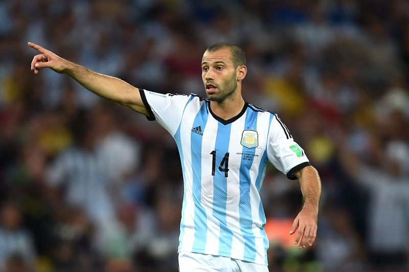 Javier Mascherano is a strong character
