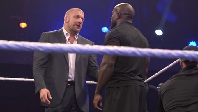 Triple H gave Apollo Crews advice before a WWE NXT show in 2015