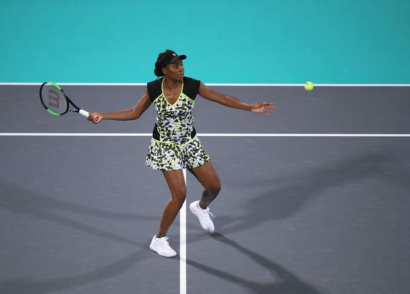 Venus Williams will look to dominate the front court