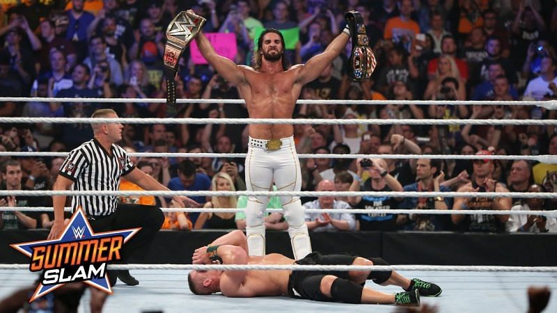 Seth Rollins defeated John Cena at SummerSlam in 2015