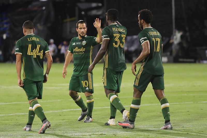The MLS is Back tournament champoons Portland Timbers