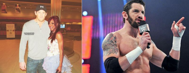 Wade Barrett was once in a relationship with former Divas Champion Alicia Fox