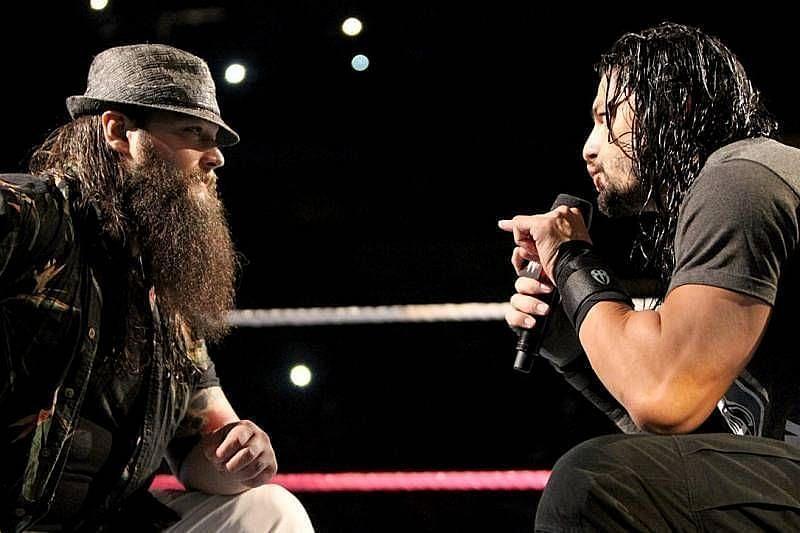 रोमन रेंस और पूर्व WWE सुपरस्टार ब्रे वायट