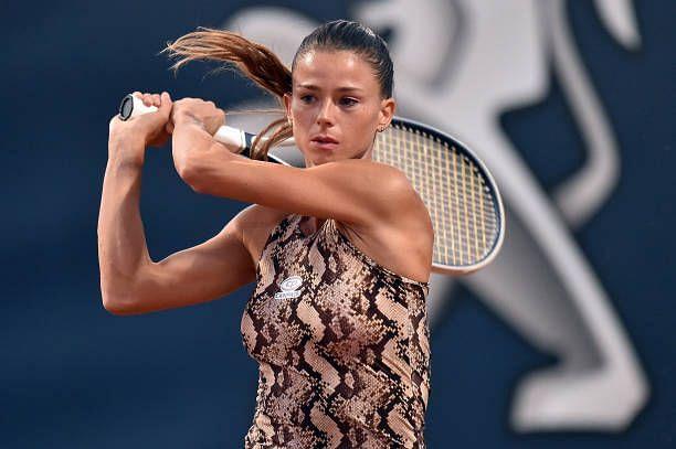 Camila Giorgi came through a near three-hour marathon in the quarterfinals