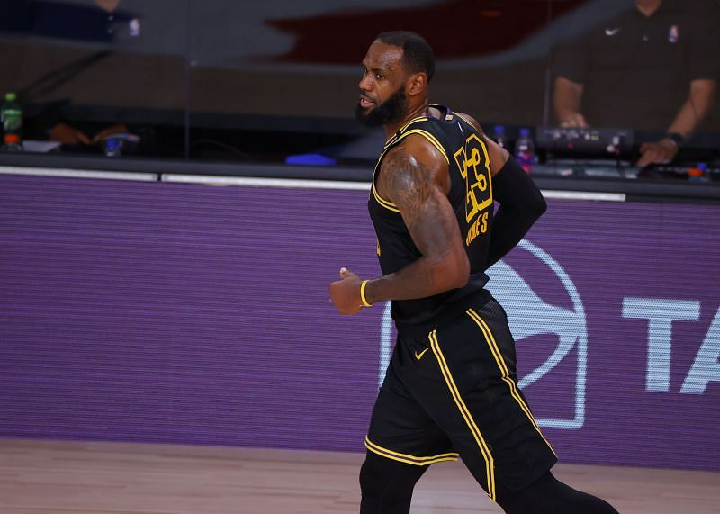 LeBron James was as dominant as ever for the LA Lakers in Game 4