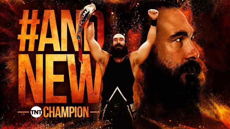Mr. Brodie Lee won the AEW TNT Championship last week