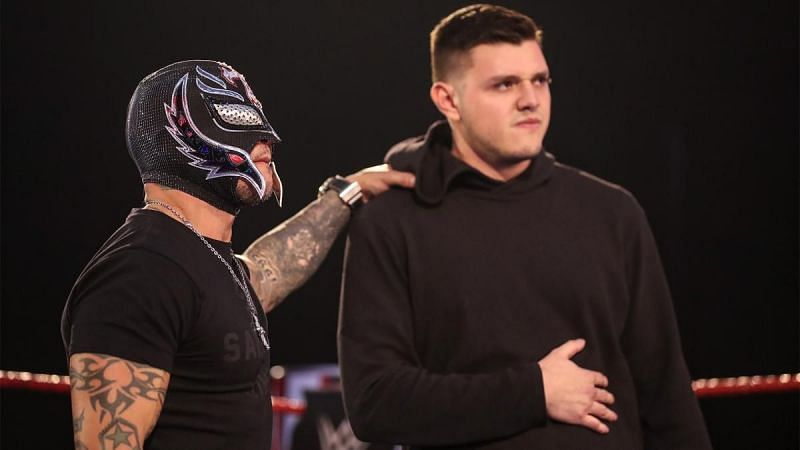 Rey Mysterio and Dominik Mysterio