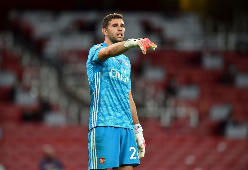 Emi Martinez was in outstanding form for Arsenal since the restart