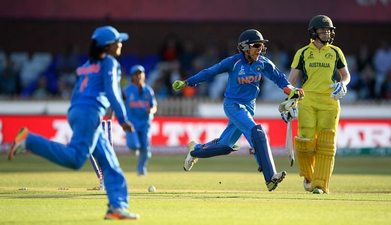 Sushma Verma kept the wickets for India in the 2017 ICC Women