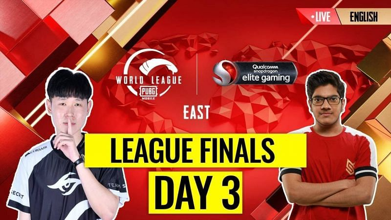 The PMWL 2020 East League Finals Day 3 schedule is out (Image credits: PUBG Mobile Esports)