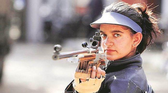 Indian shooter Anjum Moudgil