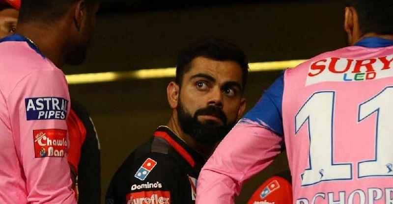 Virat Kohli - captain of Royal Challengers Bangalore