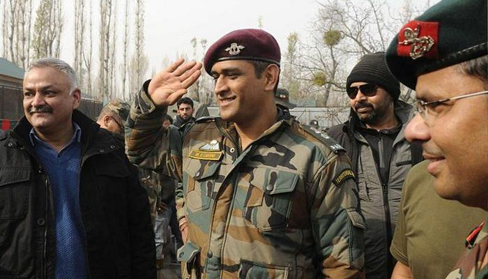 Lt .Col. MS Dhoni has served his nation in more ways than one