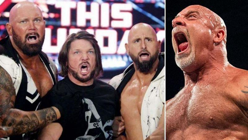 AJ Styles/Goldberg