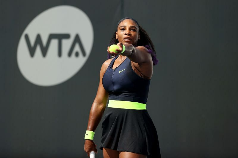 Serena Williams at the 2020 Top Seed Open