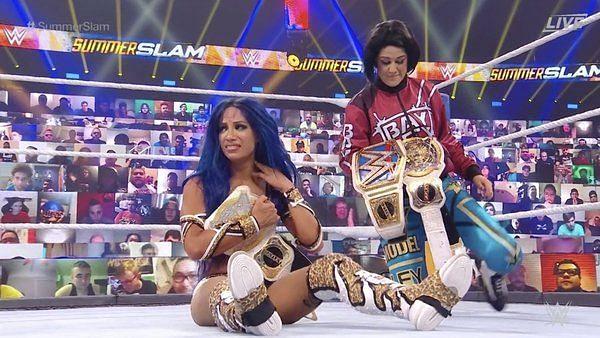 Asuka vs Sasha Banks was one of the best matches on WWE SummerSlam 2020.
