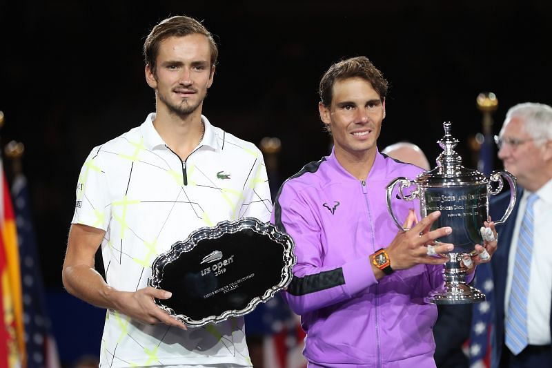 Daniil Medvedev came painfully close to clinching his first Major title at the US Open last year