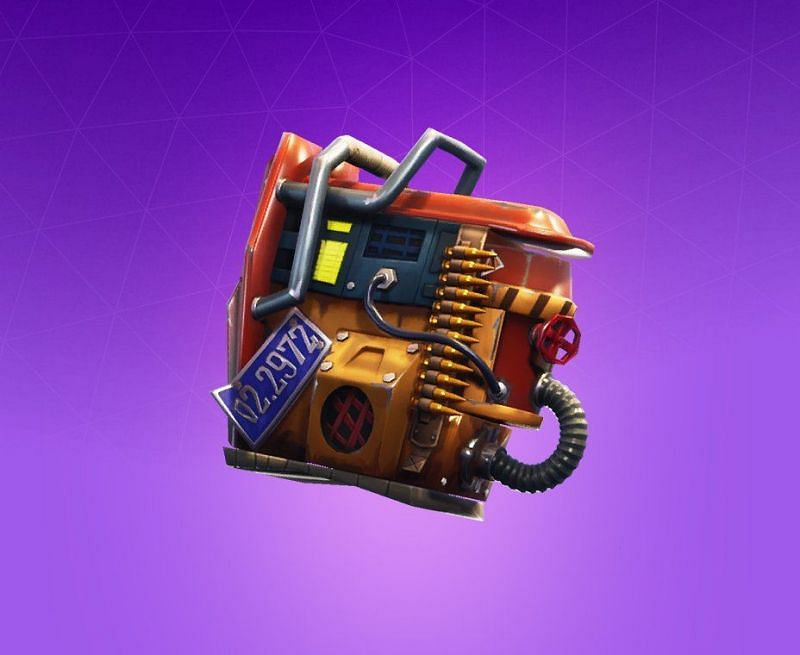 The Rust Bucket backbling in Fortnite (Image Credits: Pro Game Guide)