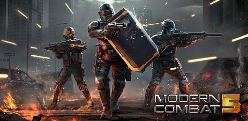 Modern Combat 5. Image: Google Play.