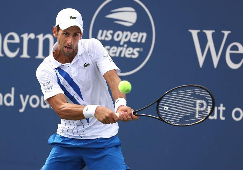 Novak Djokovic leads Dzumhur by 2-0 in the h2h