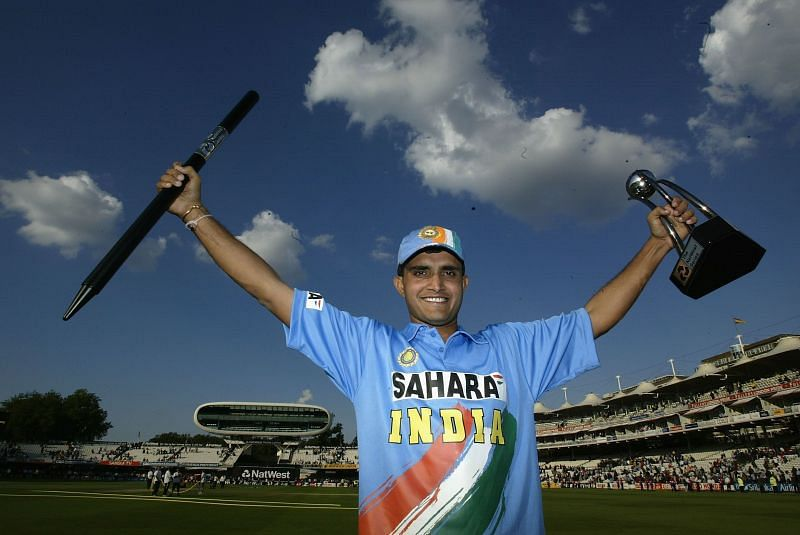 Sourav Ganguly carved out a niche at the top of the Indian ODI batting order