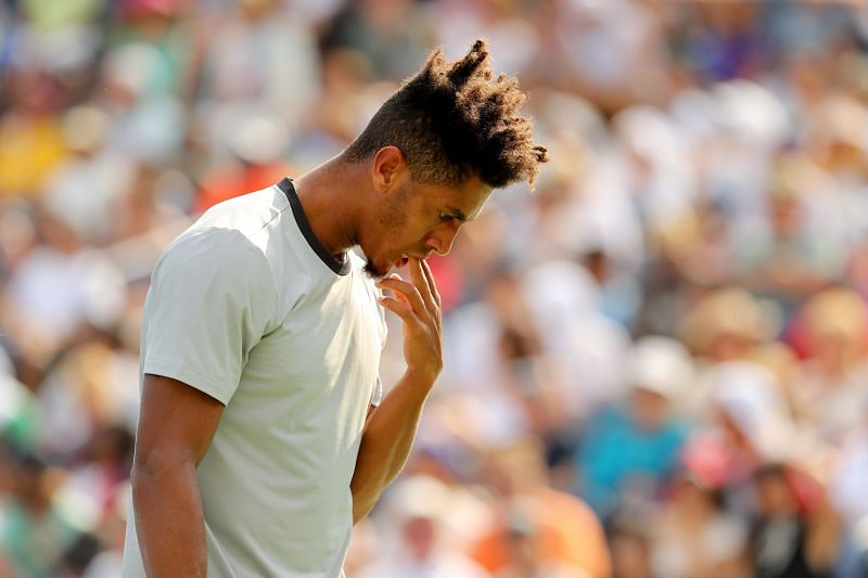 Michael Mmoh locks horns with Joao Sousa in the first round of US Open 2020