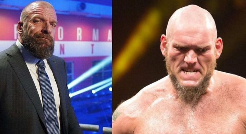 Triple H has provided an update on Lars Sullivan