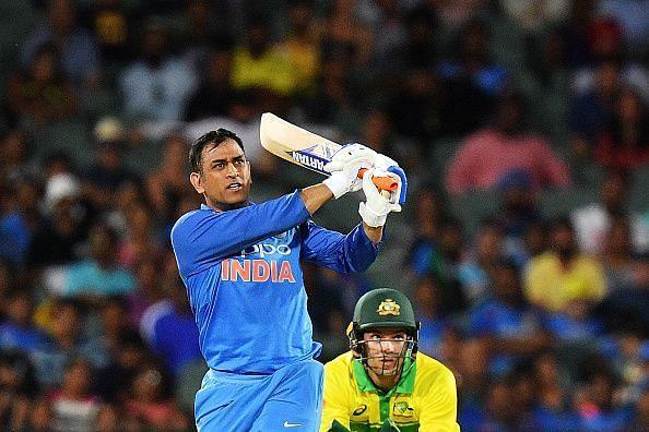 Dhoni has scored more than 10,000 ODI runs