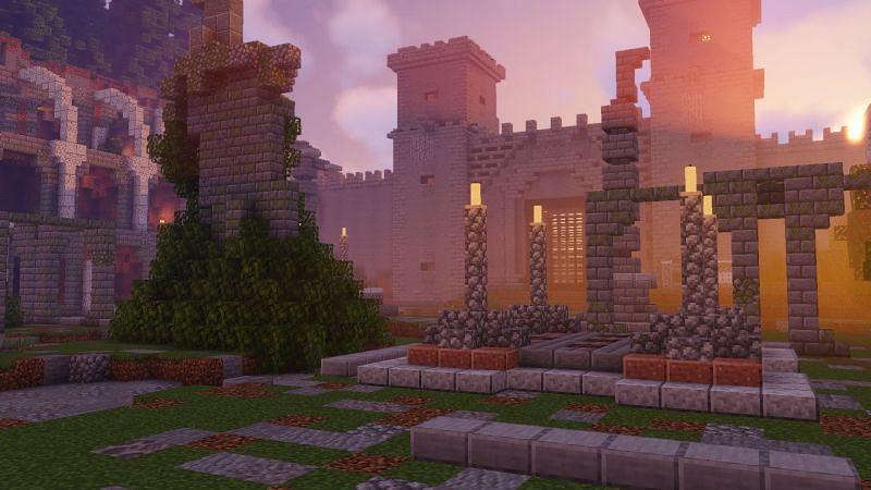 Castle to None (Image credits: Minecraft Maps)