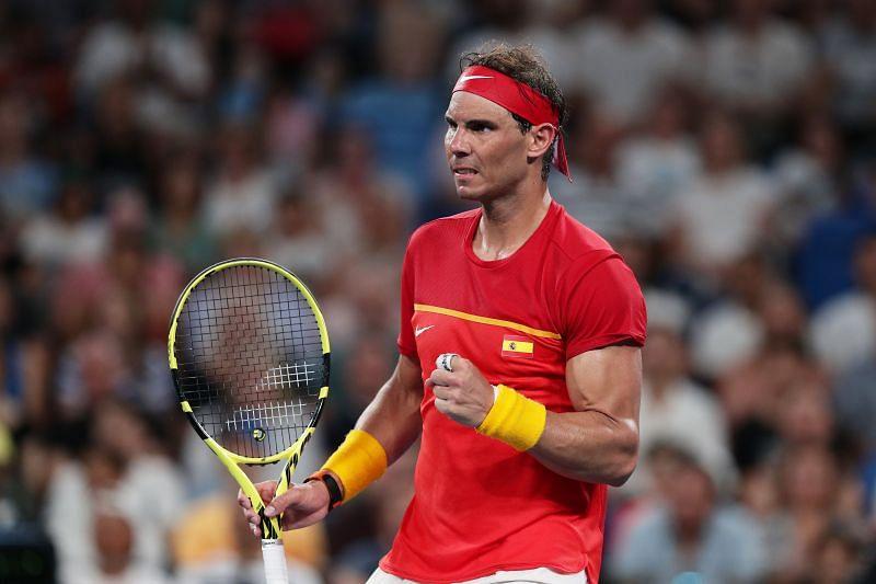 Rafael Nadal at 2020 ATP Cup