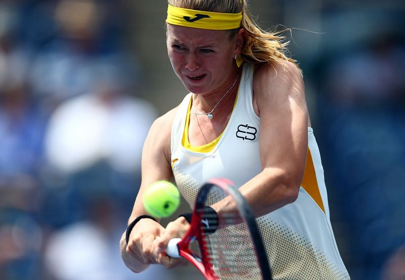 Marie Bouzkova is at a career high ranking.