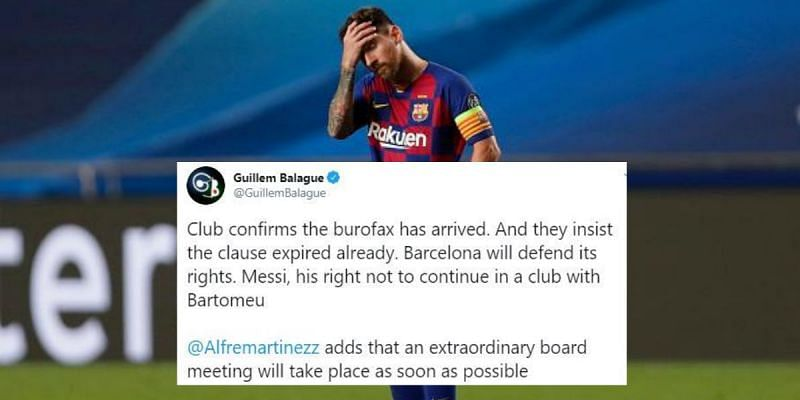 Lionel Messi has made an extraordinary decision about his future