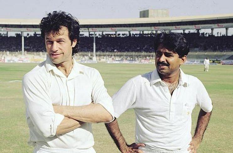 इमरान खान और जावेद मियांदाद