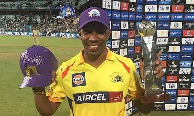 Dwayne Bravo is among two players to have won the IPL Purple Cap twice. Credits: Sportskeeda