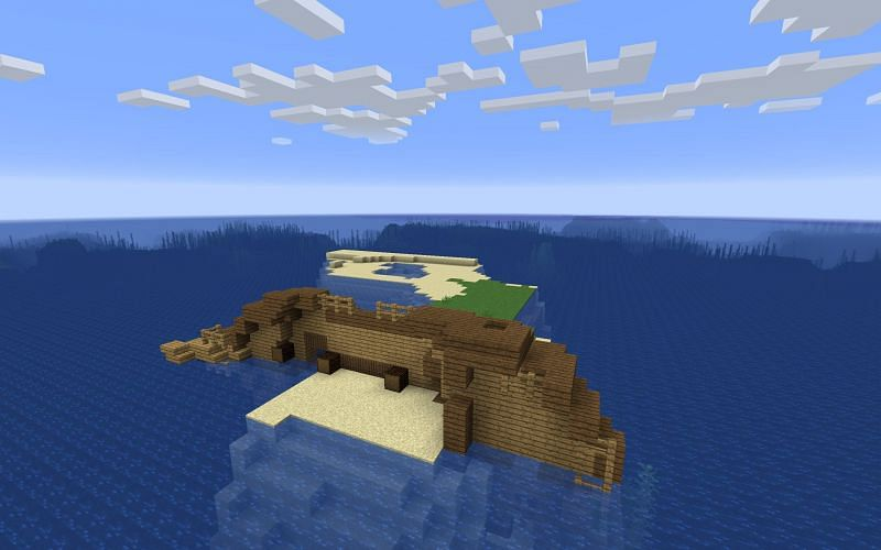 Shipwreck Survival (Image credits: Minecraft Seeds HQ)