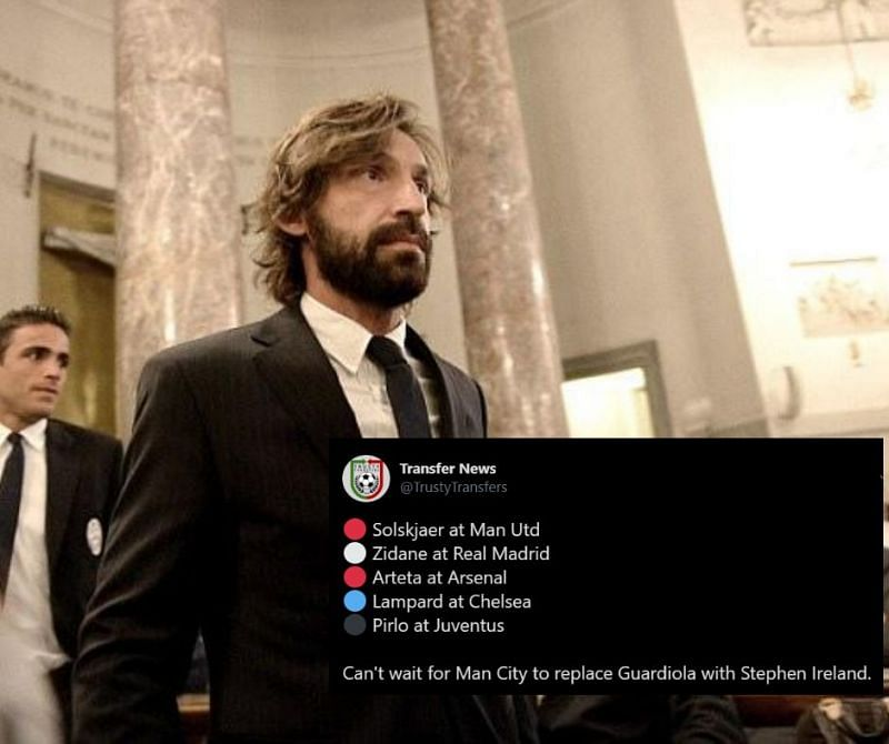 Twitter Erupts As Andrea Pirlo Is Named New Juventus Manager