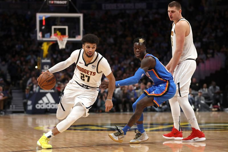 The Oklahoma City Thunder take on the Denver Nuggets on Monday