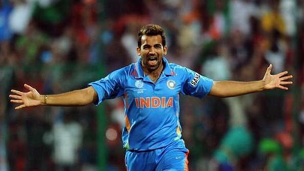 Zaheer Khan was the lynchpin of the Indian bowling attack at the 2011 World Cup