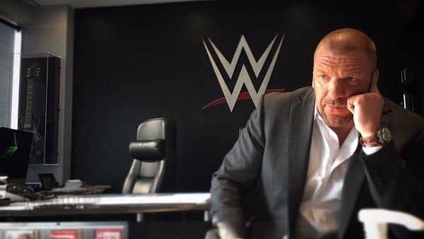 Triple H had a message for the newly crowned champions