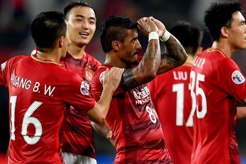 Paulinho is unavailable for Guangzhou Evergrande