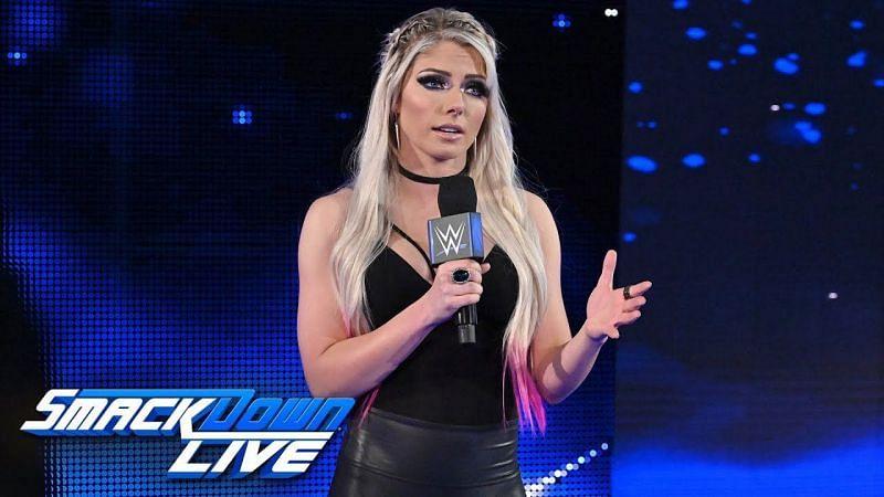 एलेक्सा ब्लिस SmackDown में नजर आएगी